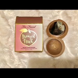 Too faced sweet peach bronzer